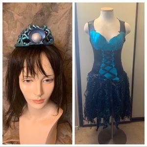 Fairy Licious Aqua Fairy Costume